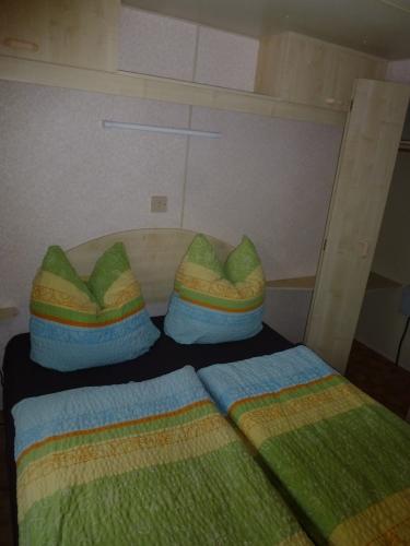 Schlafgelegenheit im Mobilheim