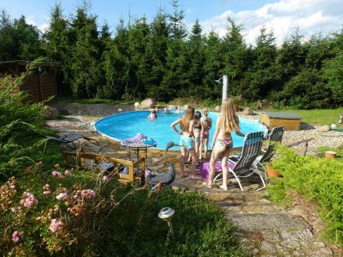 Pool, Reitpension Heidehof, Görzke, Hoher Fläming